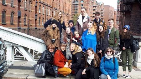 Młodzieżowa wymiana międzynarodowa ze szkołą w Tecklenburgu - część pier