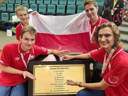 Wojtek Pawłowski - srebrnym medalistą iGeo2019 w Hongkongu
