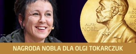 Nobel dla Olgi Tokarczuk