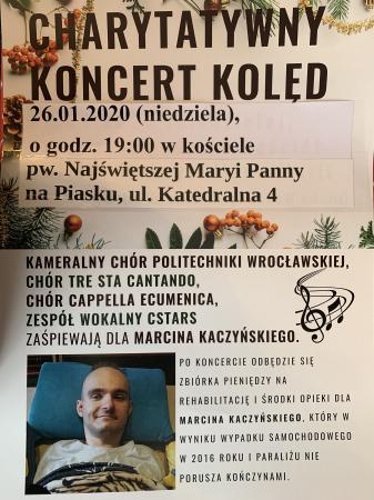 Charytatywny koncert kolęd