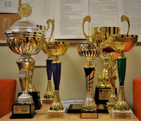 Powiększamy kolekcję trofeów XIV LO
