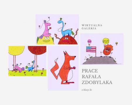 Wystawa online prac Rafała Zdobylaka