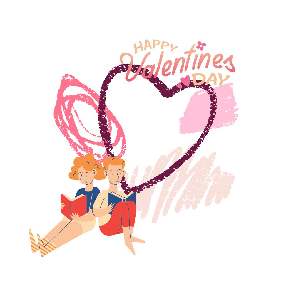 Walentynki z książką