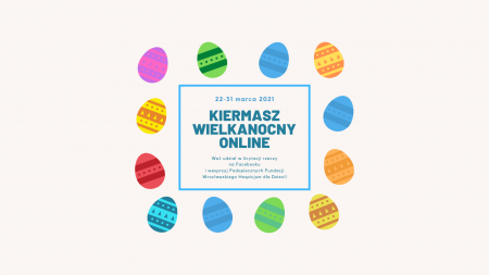 Wielkanocny kiermasz Fundacji ''Wrocławskie Hospicjum dla Dzieci''