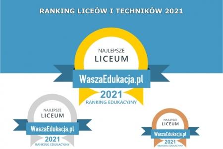 Czternastka ponownie wygrywa w rankingu portalu WaszaEdukacja.pl