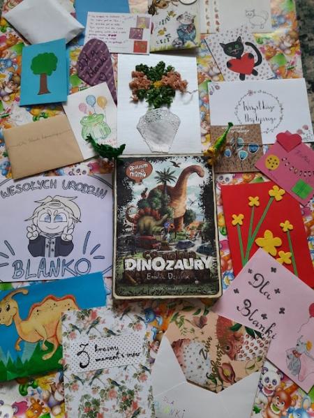 Urodzinowe kartki dla Blanki
