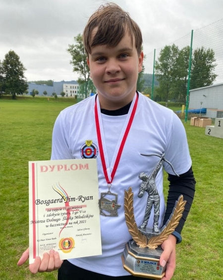 Jim-Ryan Bosgerd zdobył złoty medal w łucznictwie