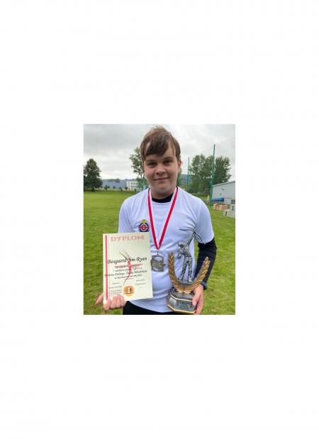 Jim-Ryan Bosgaerd zdobył złoty medal w łucznictwie